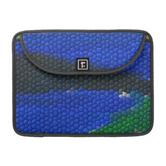 Tejas de mosaico de la pintura funda para macbook pro