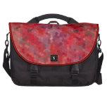 Tejas de mosaico rojas bolsas para portátil