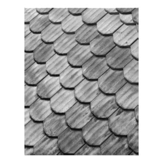 Tejas de tejado membretes personalizados