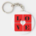Tejas del amor llaveros personalizados