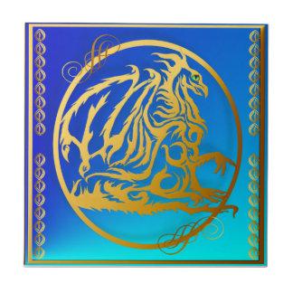 Tejas del dragón 3 del oro