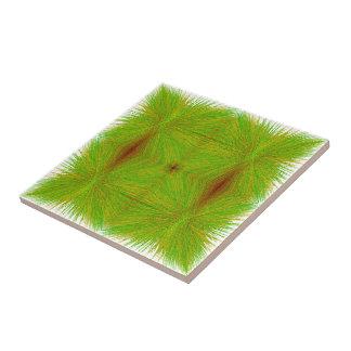 """Tejas del Matemáticas-ARTE del """"heno verde"""""""