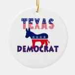 Tejas Demócrata Adorno De Navidad