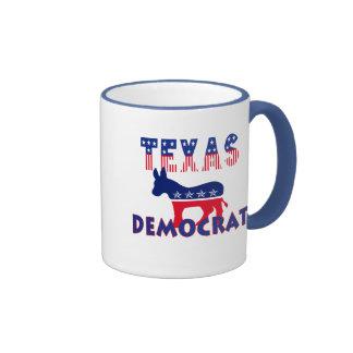 Tejas Demócrata Taza De Café