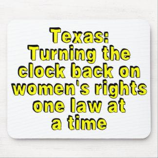Tejas: Devolviendo el reloj en las derechas de las Tapete De Raton