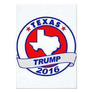 """Tejas Donald Trump 2016.png Invitación 5"""" X 7"""""""