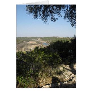 Tejas el condado de Hill Tarjeta Pequeña