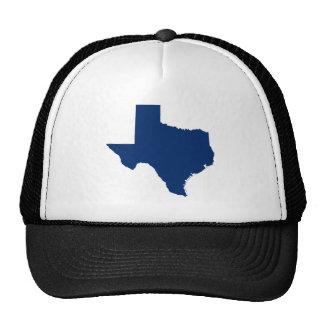 Tejas en azul gorras de camionero