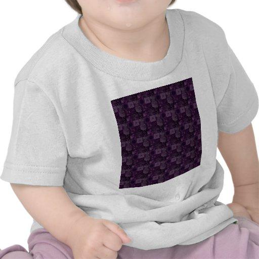 Tejas en púrpura camiseta