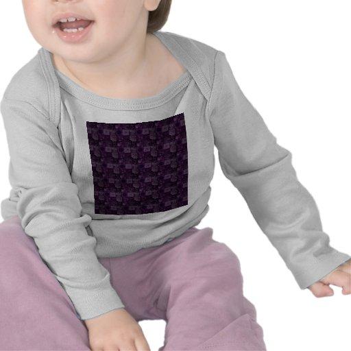 Tejas en púrpura camisetas