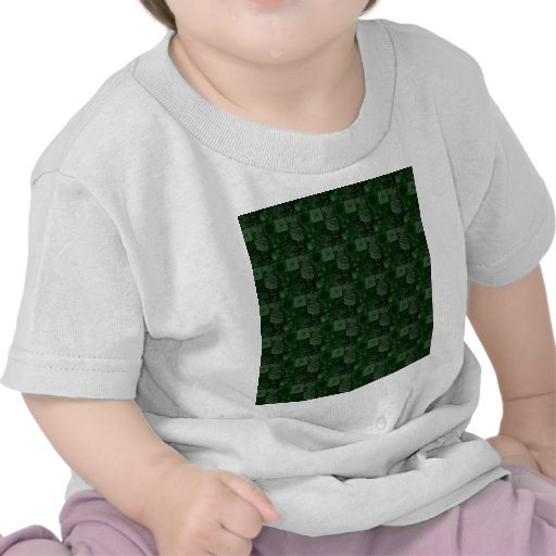 Tejas en verde camiseta