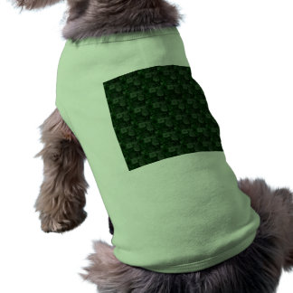 Tejas en verde ropa de perros