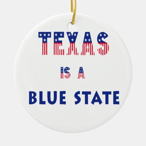 Tejas es un estado azul ornato