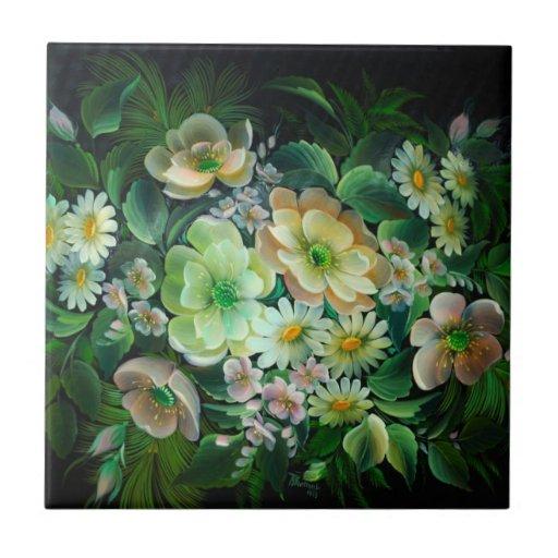Tejas florales