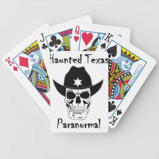 Tejas frecuentado barajas de cartas