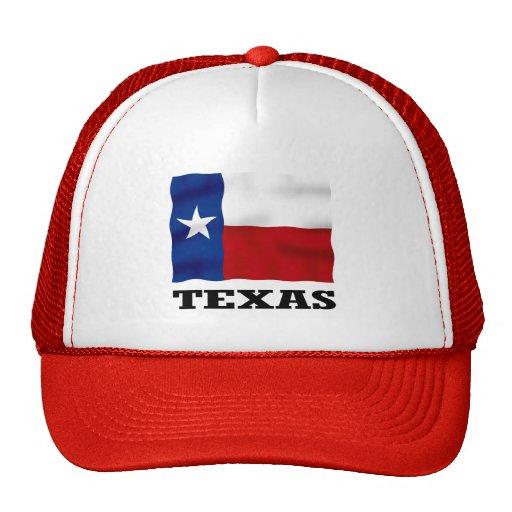 TEJAS - gorra rojo del camionero