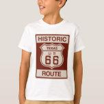 Tejas histórico RT 66 Playera