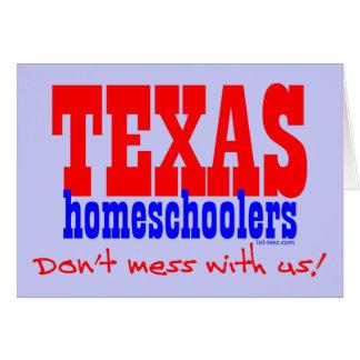 Tejas Homeschoolers Tarjeta De Felicitación