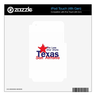 TEJAS iPod TOUCH 4G SKINS