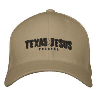 Tejas Jesús registra el gorra de béisbol