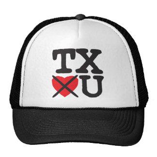 Tejas le odia gorras de camionero
