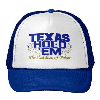 Tejas los sostiene gorra