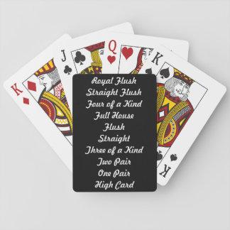Tejas los sostiene las tarjetas de las graduacione cartas de juego