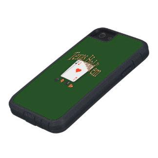 Tejas los sostiene póker iPhone 5 Case-Mate carcasas