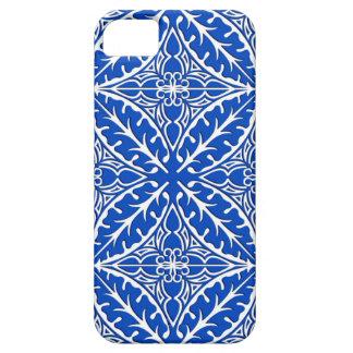 Tejas marroquíes - azul y blanco de cobalto iPhone 5 carcasa