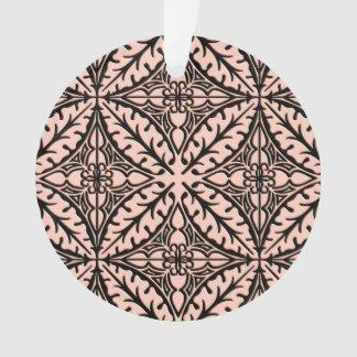 Tejas marroquíes - rosa y negro del melocotón