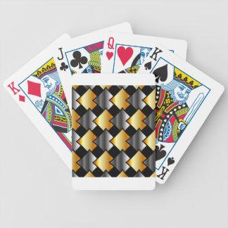 Tejas metálicas barajas de cartas