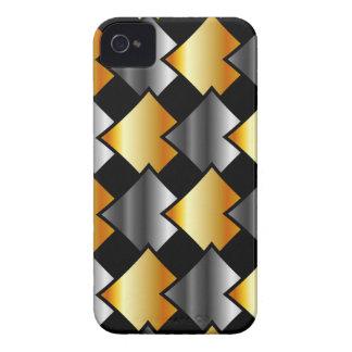 Tejas metálicas Case-Mate iPhone 4 protector
