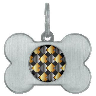 Tejas metálicas placas mascota