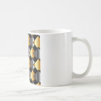 Tejas metálicas tazas de café