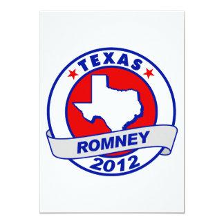"""Tejas Mitt Romney Invitación 5"""" X 7"""""""