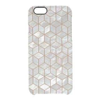 Tejas nacaradas funda transparente para iPhone 6/6S