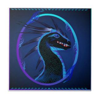 Tejas negras de cuernos del dragón