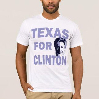 Tejas para la camiseta de Hillary Clinton