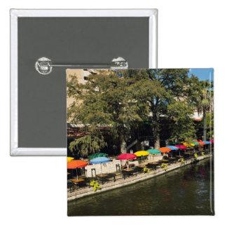 Tejas, Riverwalk, cenando en el borde del río Pin