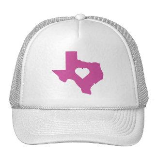 Tejas rosado gorra