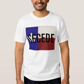 Tejas SECEDE la camiseta Playeras