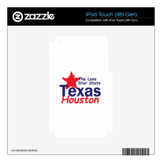 TEJAS SKINS PARA iPod TOUCH 4G