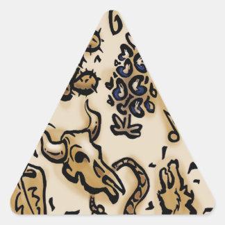 Tejas Thang Calcomanía Trianguladas Personalizadas