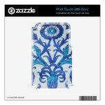 Tejas turcas de Iznik de la era del otomano Calcomanías Para iPod Touch 4G