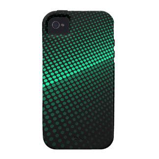 Tejas verdes Case-Mate iPhone 4 carcasa