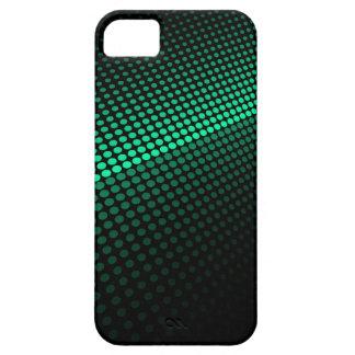 Tejas verdes iPhone 5 funda