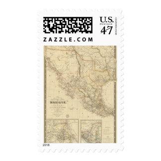 Tejas y México Sellos Postales