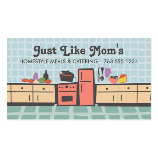 Teje la cocina que cocina la tarjeta de visitas de