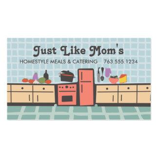 Teje la cocina que cocina la tarjeta de visitas tarjetas de visita
