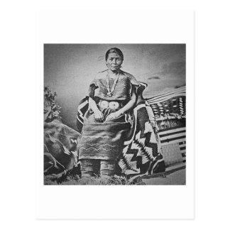 Tejedor combinado de Navajo Tarjeta Postal